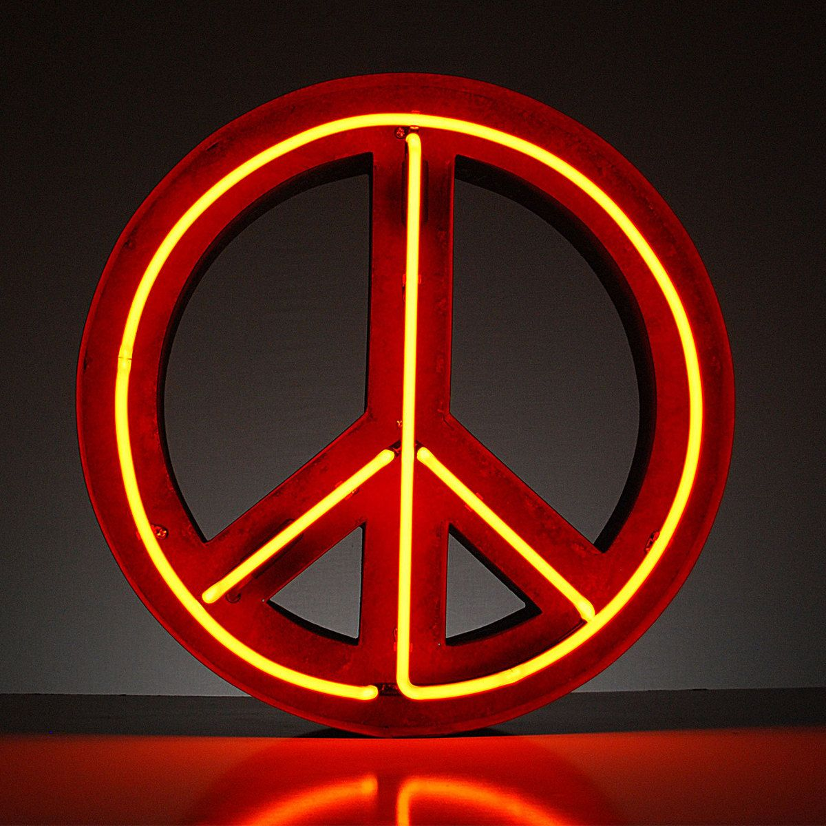Marquee Light Neon Peace Sign | Home Goodness | Pinterest ...