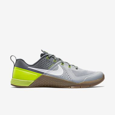 Nike Metcon 1 Men Training Shoes Wolf Grey Cool Grey Volt White