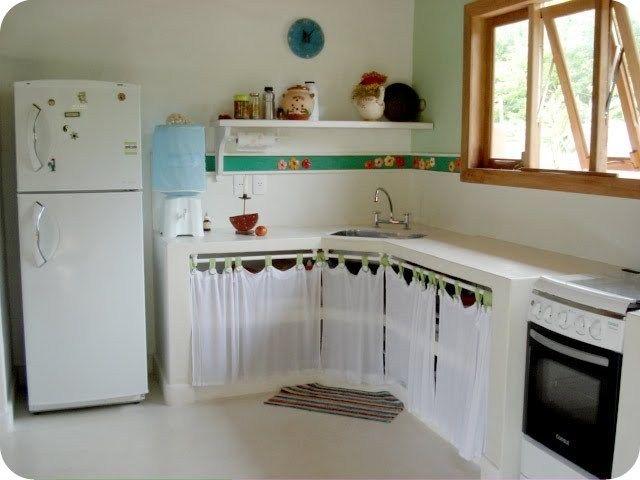 Decorar Bajo Mueble Que No Tiene Puertas Buscar Con Google Cocinas De Estilo Rustico Fregaderos De Cocina Cortinas Para Cocina