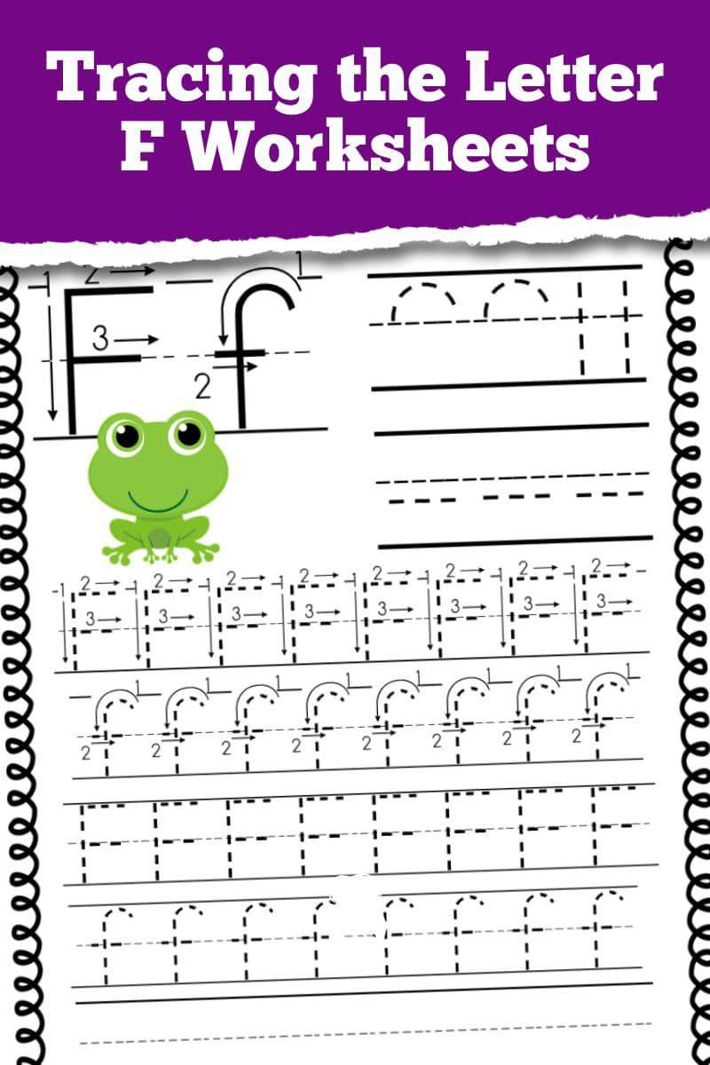 Letter F Worksheets And Activities For Preschool Toddler Learning Activities Kindergarten Worksheets Alphabet Practice Sheets [ 1200 x 800 Pixel ]