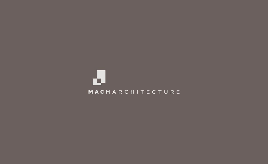 Mach Architecture Buffalo NY Logo Design Branding By Typework