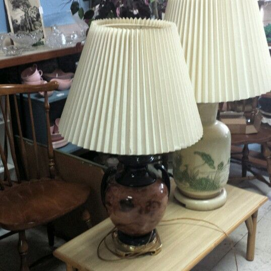 Vintage Asian Style Chinoiserie Lamps. Hollywood Regency. $119.00 Each. # Vintage #chinoiserie #homedecorating #ideas #lakewood #ohio #cleveland