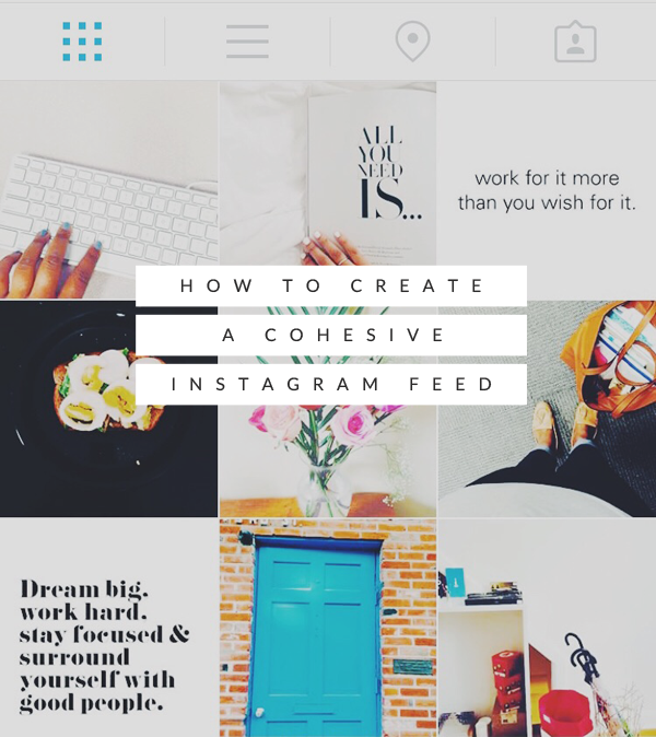 Creating a cohesive instagram feed instagram feed for Best home decor instagram