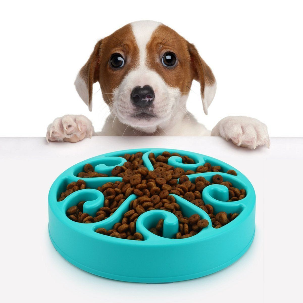 Slow Feeder Dog Bowl Dog Puzzle Bowl Maze Ecofriendly