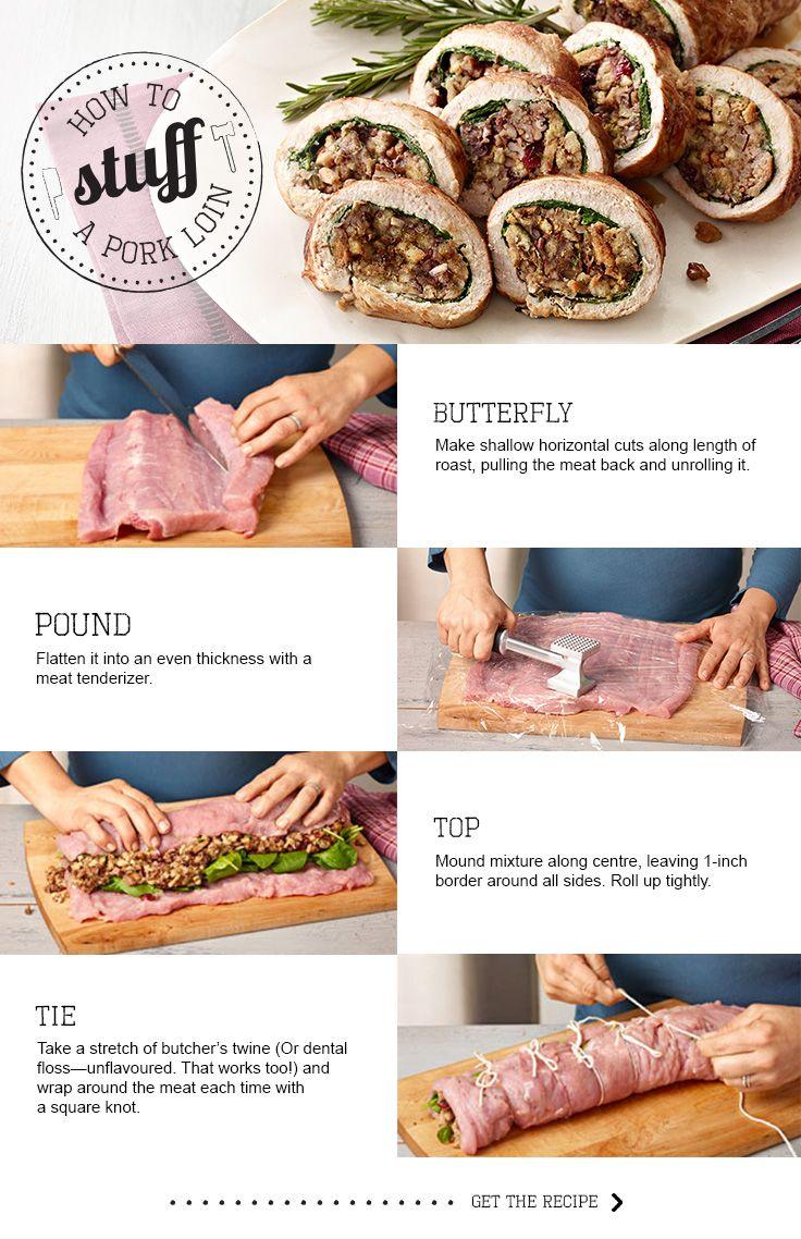 Perfect Stuffed Pork Loin Roast Uses Centre Cut Loin Fresh