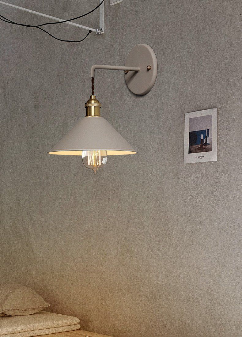 Linus Vintage Plated Wall Lamp In 2020 Wandleuchte