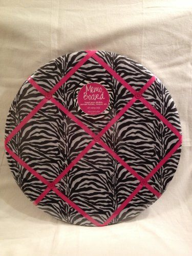 Black and White Zebra with Hot Pink Ribbon Memo Board Teen Room Decor Zebra Room Decor Zebra Memo Board Enchante Accessories Inc.,http://www.amazon.com/dp/B00FQXPF4C/ref=cm_sw_r_pi_dp_EU8Msb0PP92QDM5Q