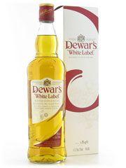 Whisky Blended Dewar's - White Label Teor alcoólico: 40% 1.000 ml Aparência: Amarelo Claro. Opaco. - Olfato: Predominam os aromas de cereais e levemente florais. - Paladar: Suave, floral e adocicado. Baunilha, caramelo e cereais. - Fim de boca: Médio e ligeiramente adocicado. - Conclusão: Blended delicado, floral, suave e agradável.