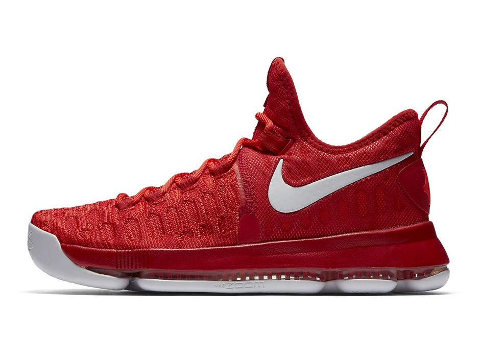 new arrival ebee0 9fa5b Nike KD 9 Red White 843392-611   SneakerNews.com