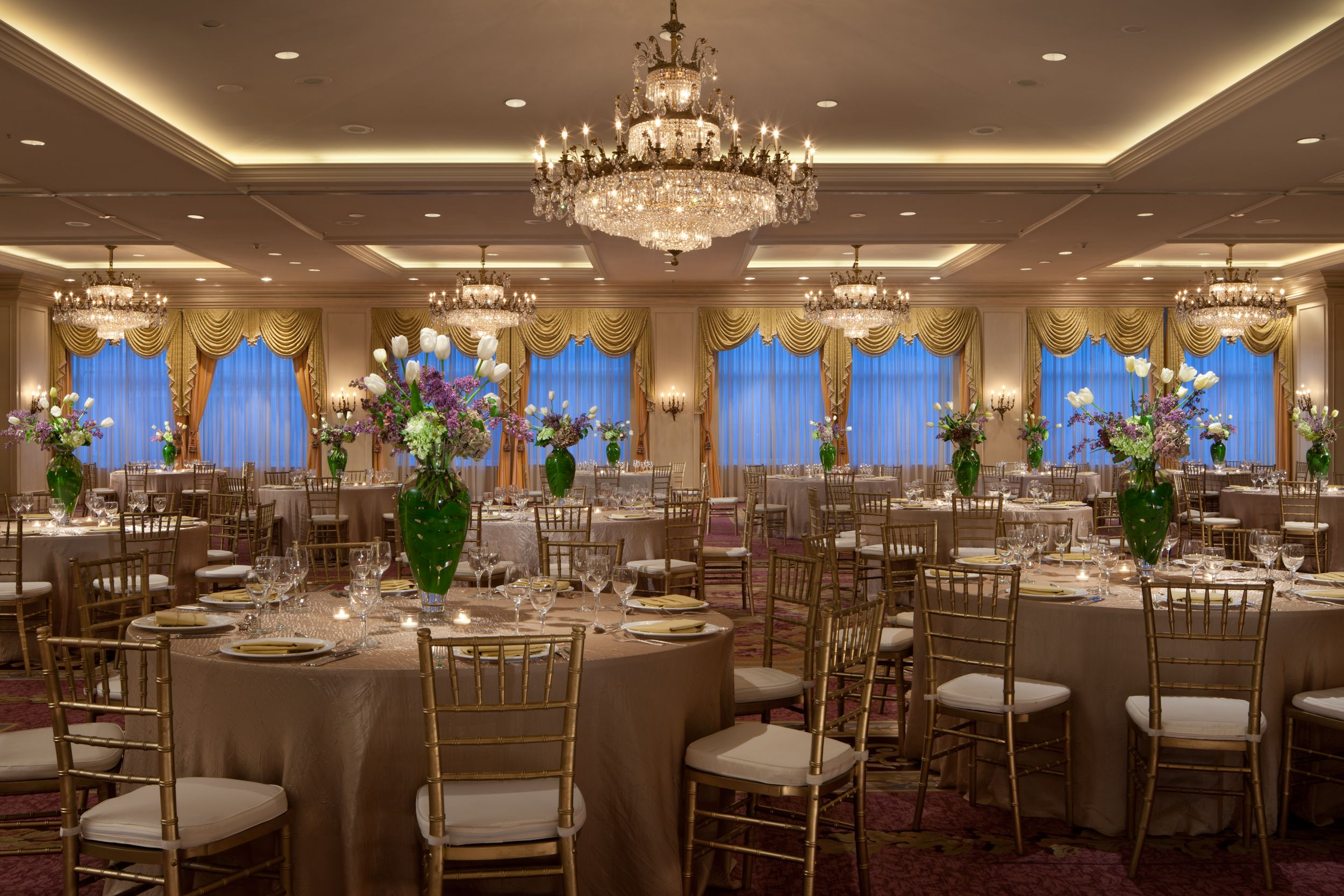 Nothing says romance like a wedding in the Grand Ballroom at The ...