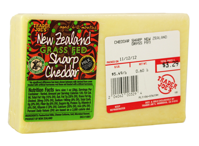grass fed cheese