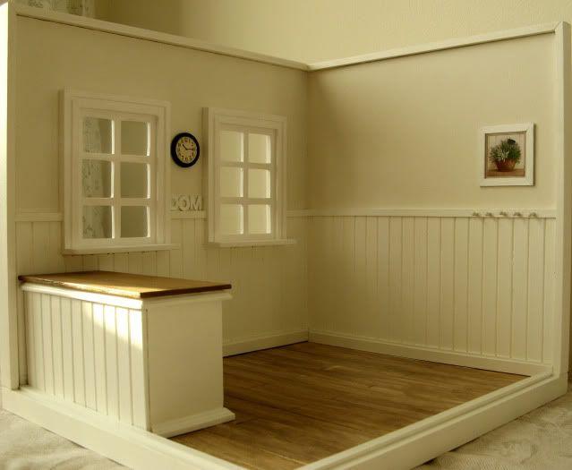 Still Empty Roombox By Gosia Dollhouse Roombox Miniatures