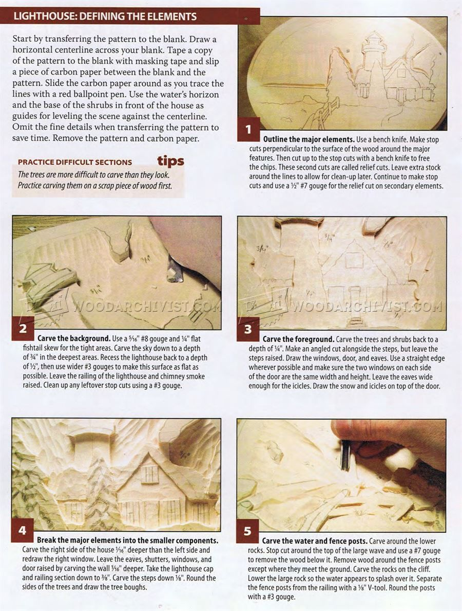 148 relief carving patterns winter lighthouse wood carving