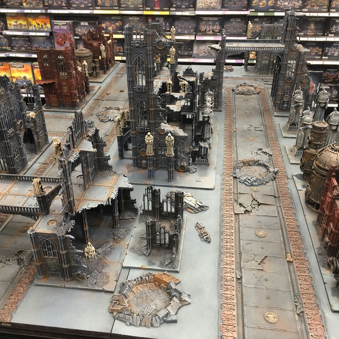 Pin by Ernest Gomez on Gaming table in 2020 40k terrain