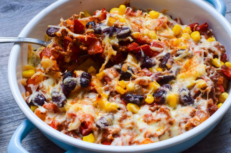 Photo of Low Carb Tex-Mex Baked Mexican Style Casserole