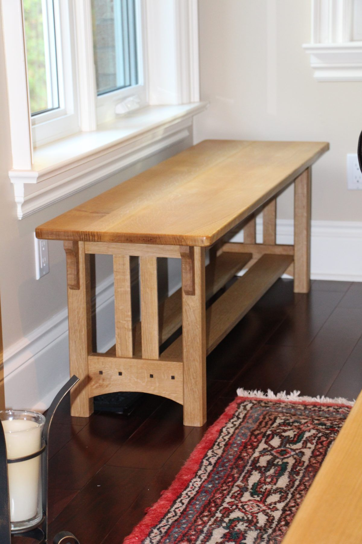 A set of 3 tables custom built to suit a client's needs.