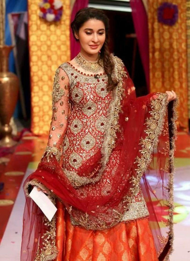 925f691ced Buy Pakistani Bridal Dress - Pakistani Wedding Dresses - Paksitani Mehndi  Dress - Asian Wedding Party Dress at NameerabyFarooq.com Wedding Party  Mehndi ...