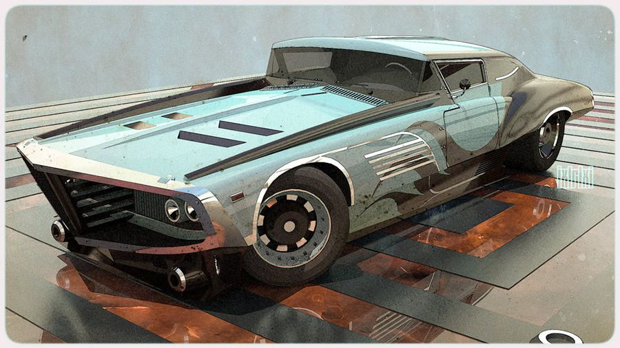 Slick Car Concepts By 600v Like The Painting Effect On The
