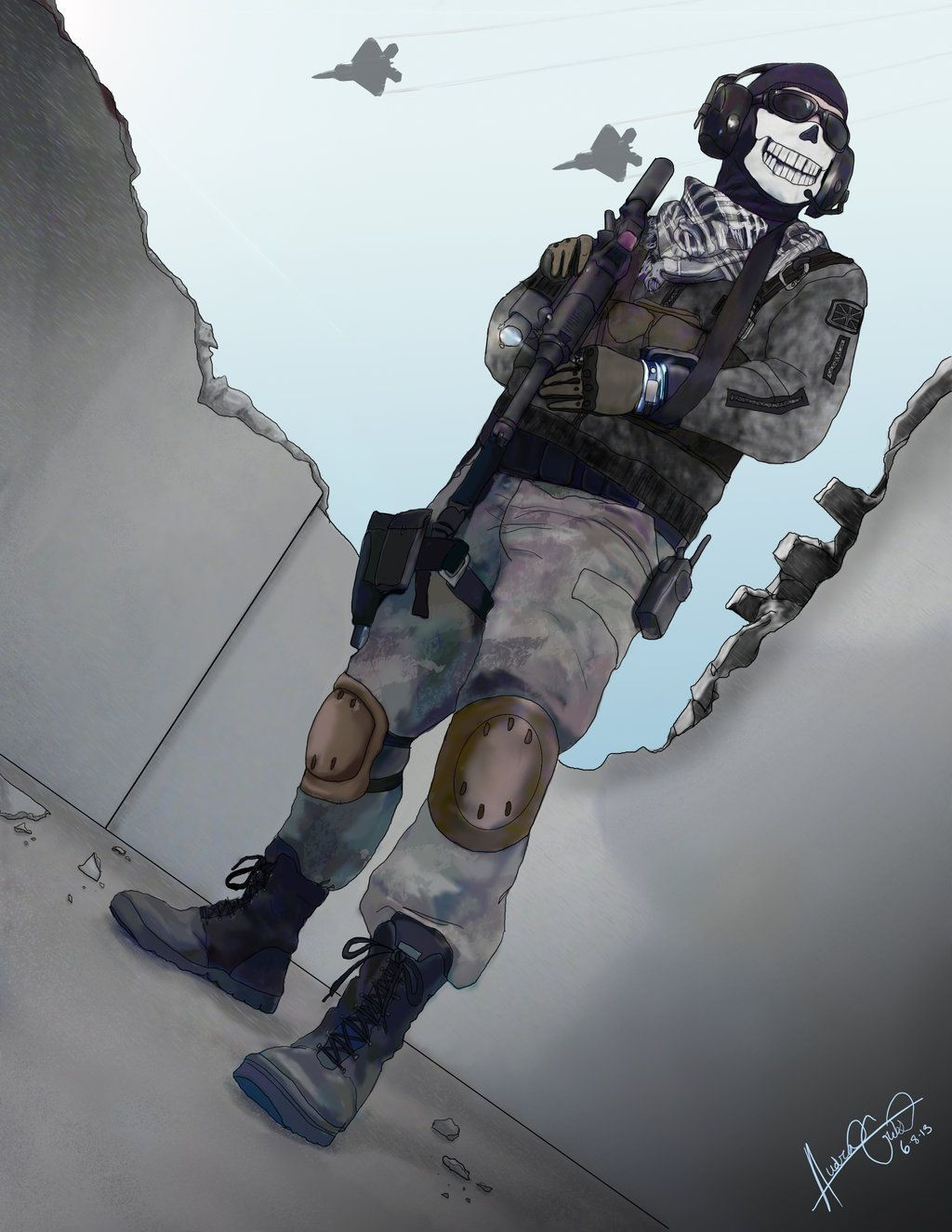 Call Of Duty Ghosts Halloween Costume