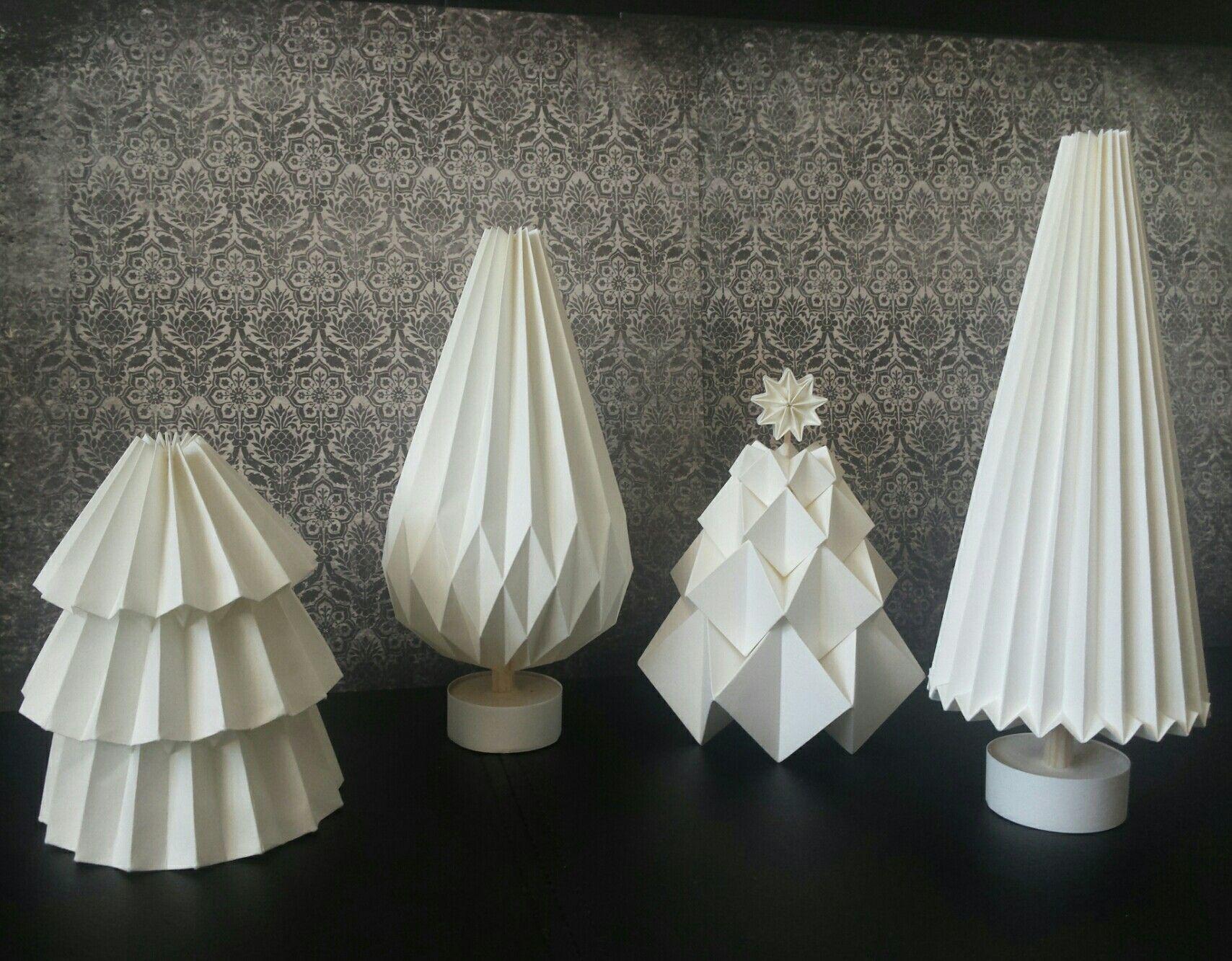 Verführerisch Weihnachtsdeko Aus Papier Das Beste Von Christmastree Papertree Weihnachtsbaum Gefaltet Tannenbaum Von Der