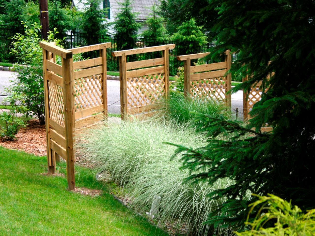 Build A Privacy Wall With Fence Panels | Landscaping Ideas And Hardscape  Design | HGTV