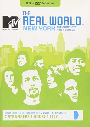 The Real World Season 1 Hu Dvd 13690 Mtv Eric Nies The Real