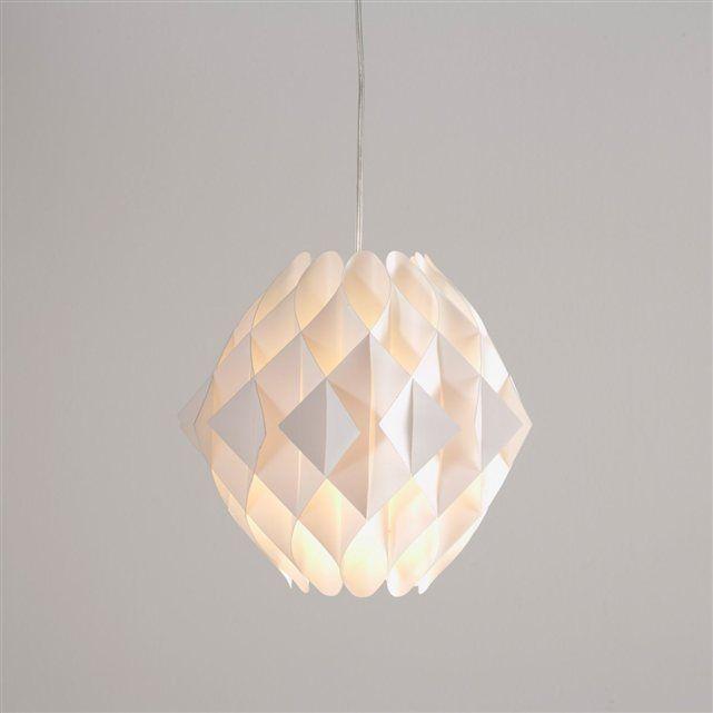 suspension origami myrsa la redoute interieurs la redoute soldes deco pinterest. Black Bedroom Furniture Sets. Home Design Ideas