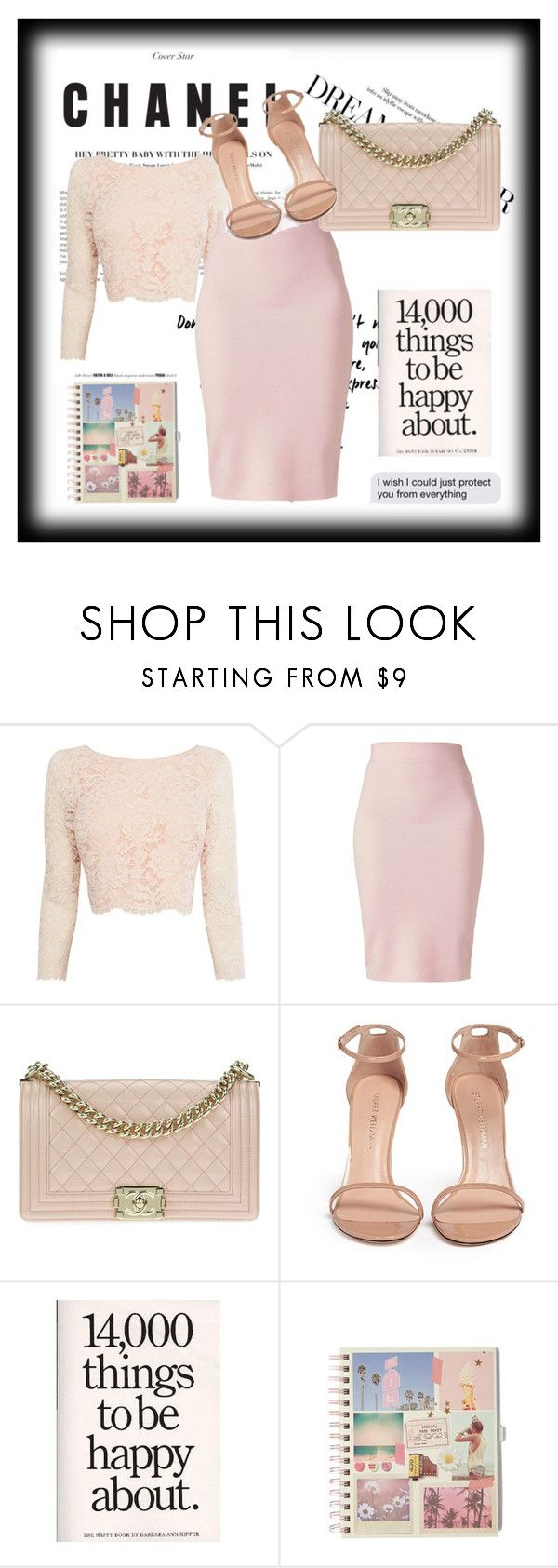 Chanel #1 by akemba on Polyvore featuring мода, Coast, Winser London, Stuart Weitzman and Chanel