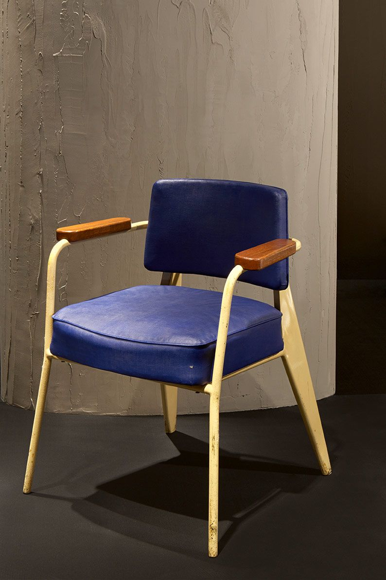 jean prouv fauteuil bridge agl pinterest mid century chair mid century and future house. Black Bedroom Furniture Sets. Home Design Ideas