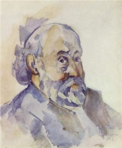 Self-Portrait - Paul Cezanne