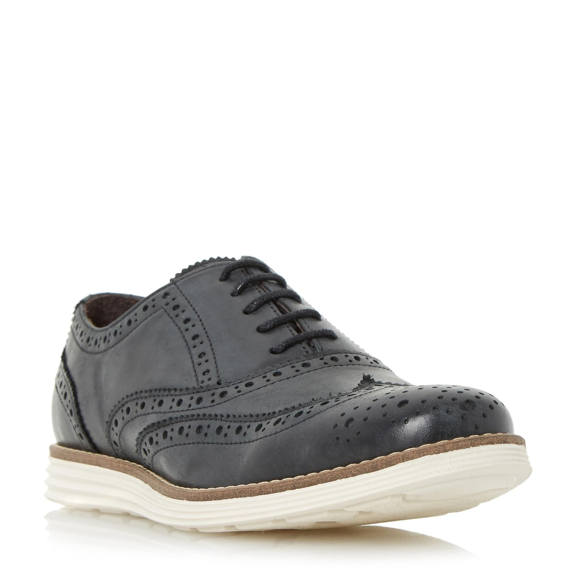 Dune Shoes Online | Leather brogues