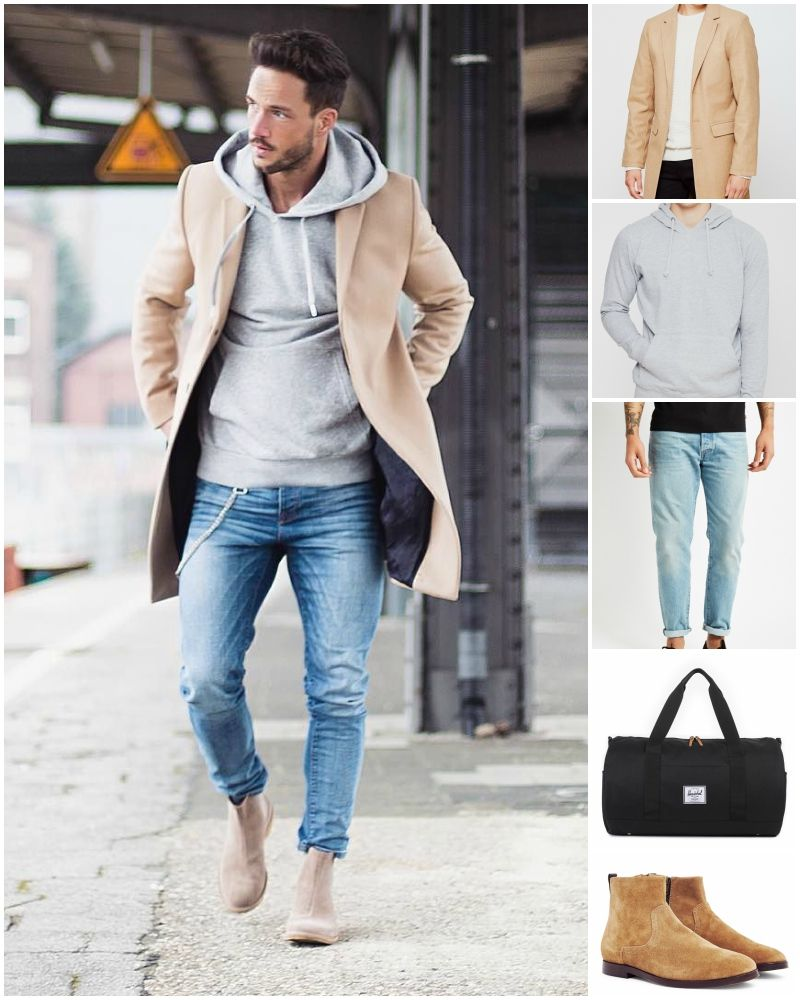 how to wear chelsea boots and jeans  mens fashion suits
