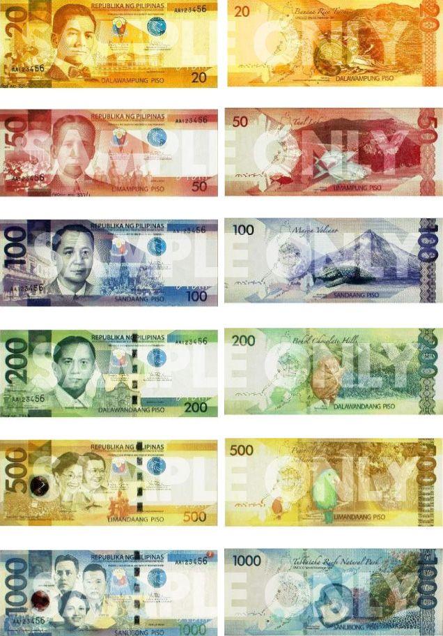 Philippine Peso The New
