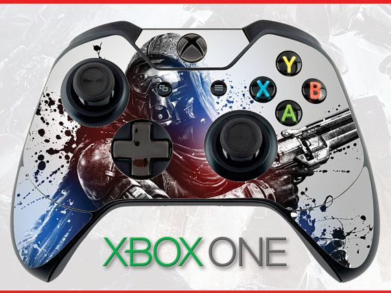 Enthusiastic Xbox One X Destiny 2 Hunter 1 Skin Sticker Console Decal Vinyl Xbox Controller Video Game Accessories Faceplates, Decals & Stickers