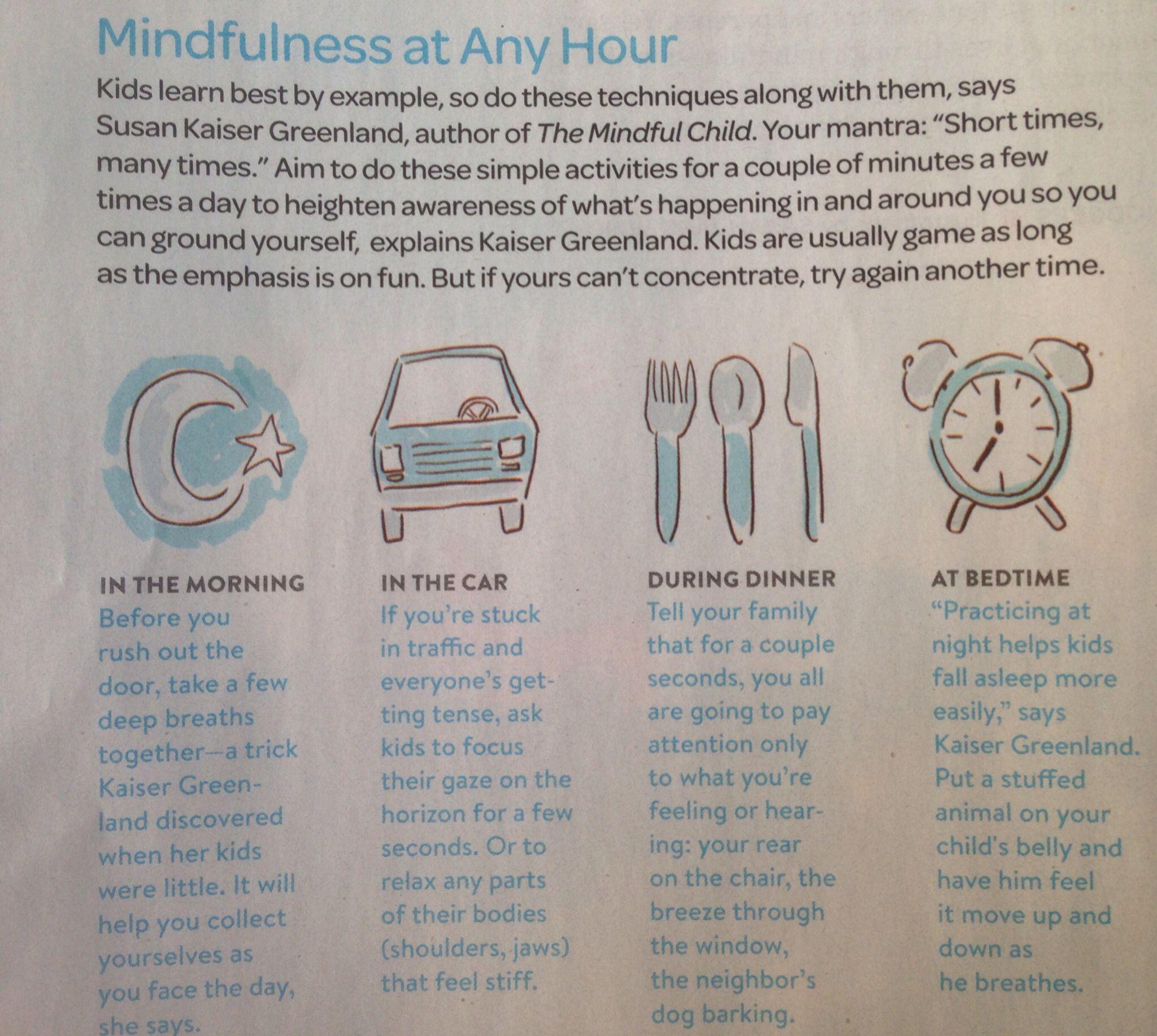 Family Fun Magazine April The Mindful Child