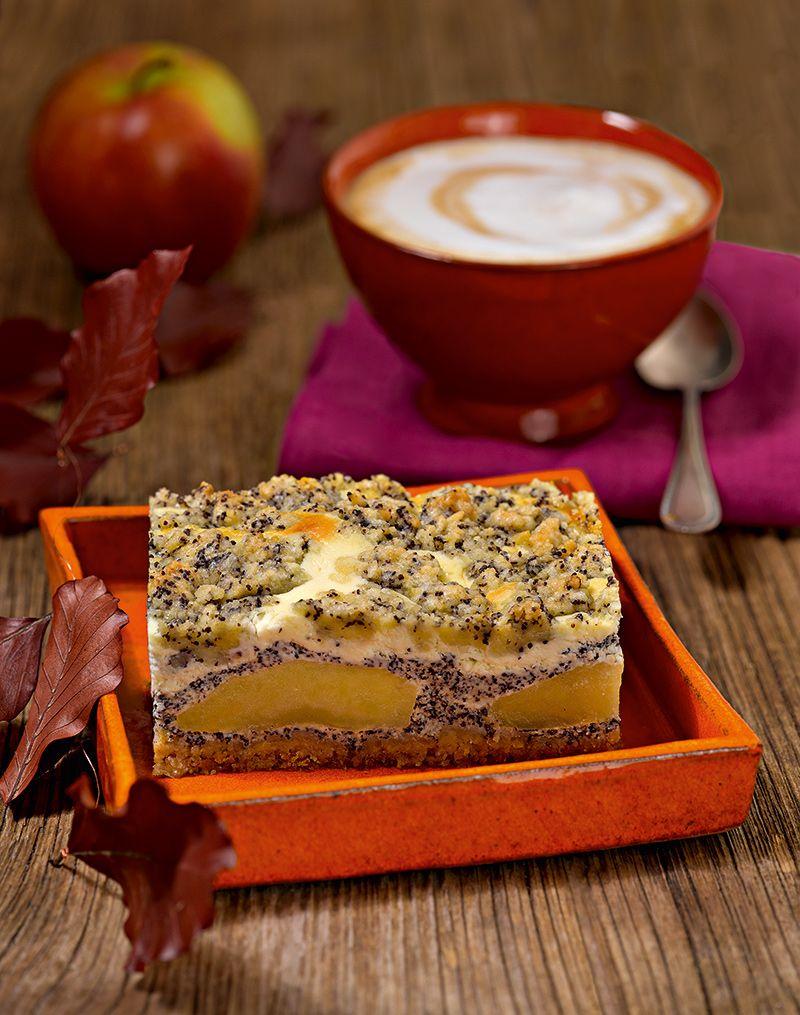 Apfel Mohn Quark Streuselkuchen Rezept Blechkuchen Pinterest