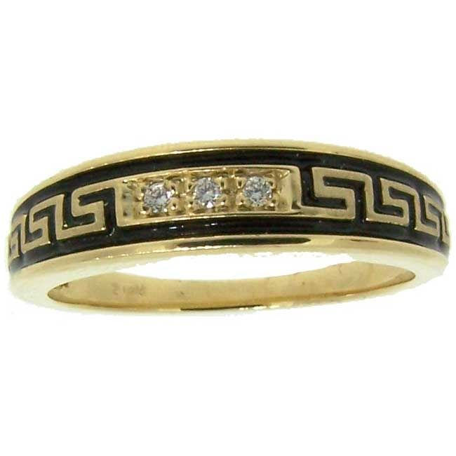 Native American Style Wedding Band