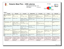 30 Day Diabetic Meal Plan Pdf Google Search Diabetic Meal Plan Diabetic Diet 1200 Calorie Diabetic Diet