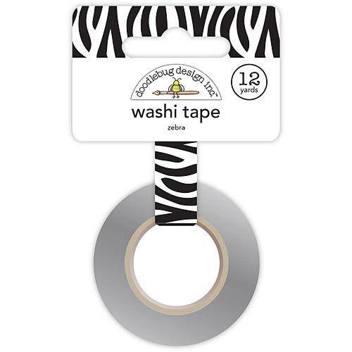 DOODLEBUG DESIGN: Washi Tape 15mm (Zebra)