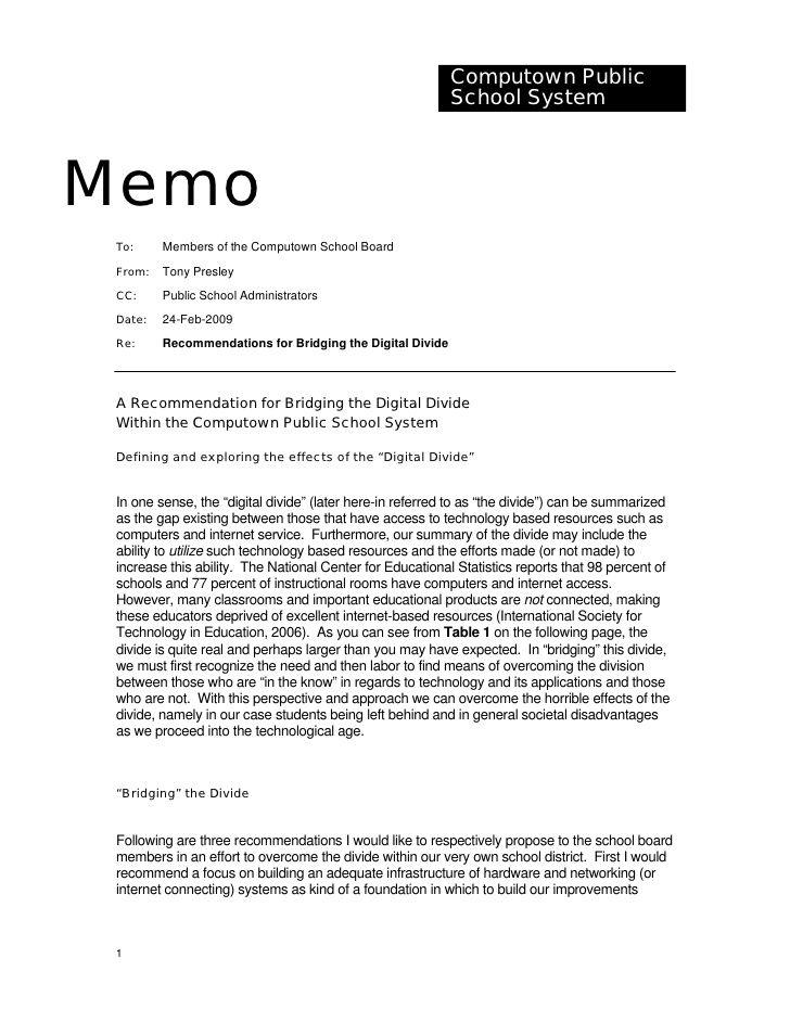 Sample Memorandum Memo Examples Memo Format Memo Template
