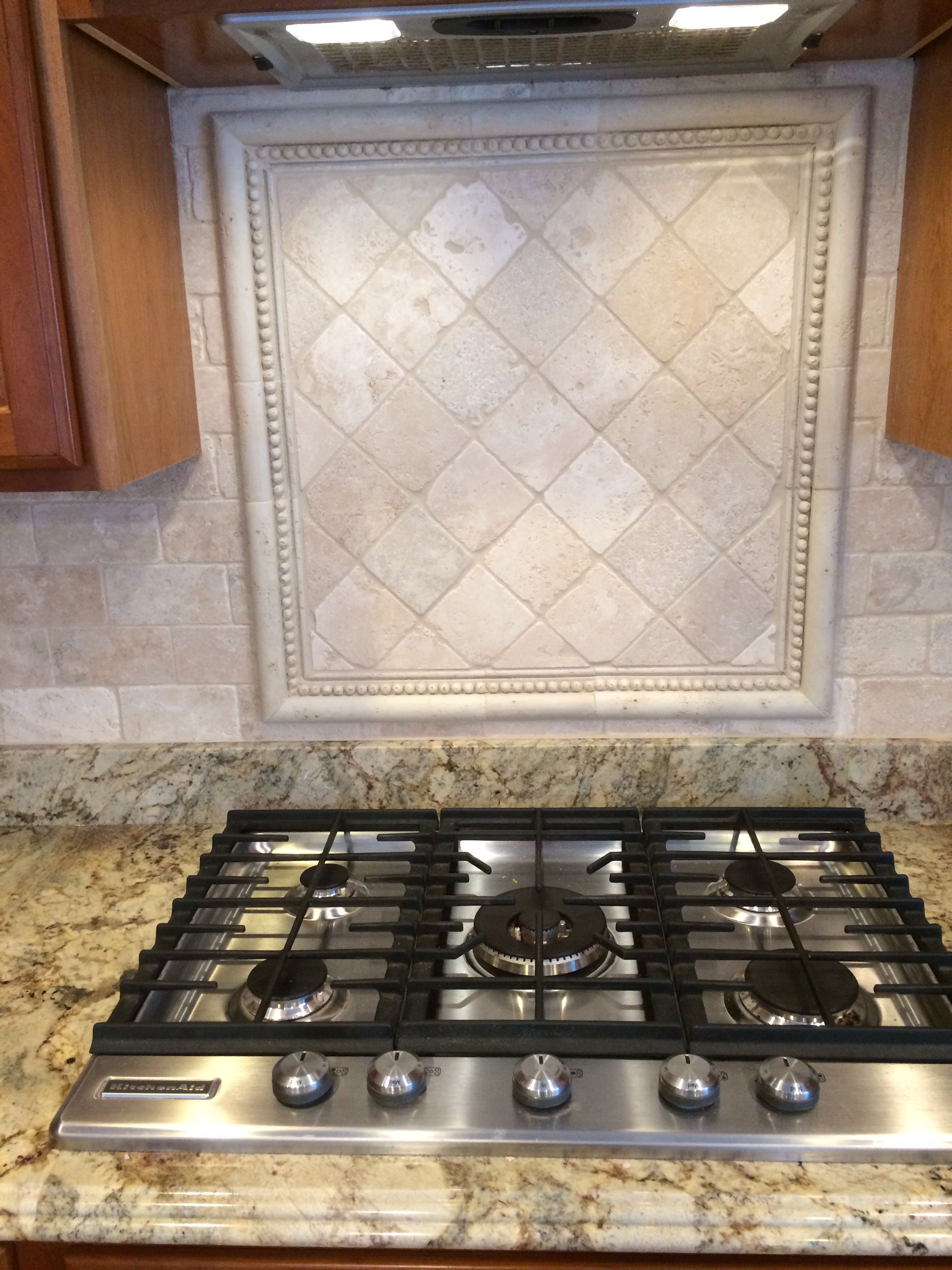 Awesome Tumbled Marble Backsplash Ideas