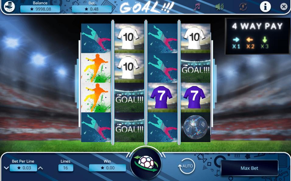 Goal!!! Slot Machine