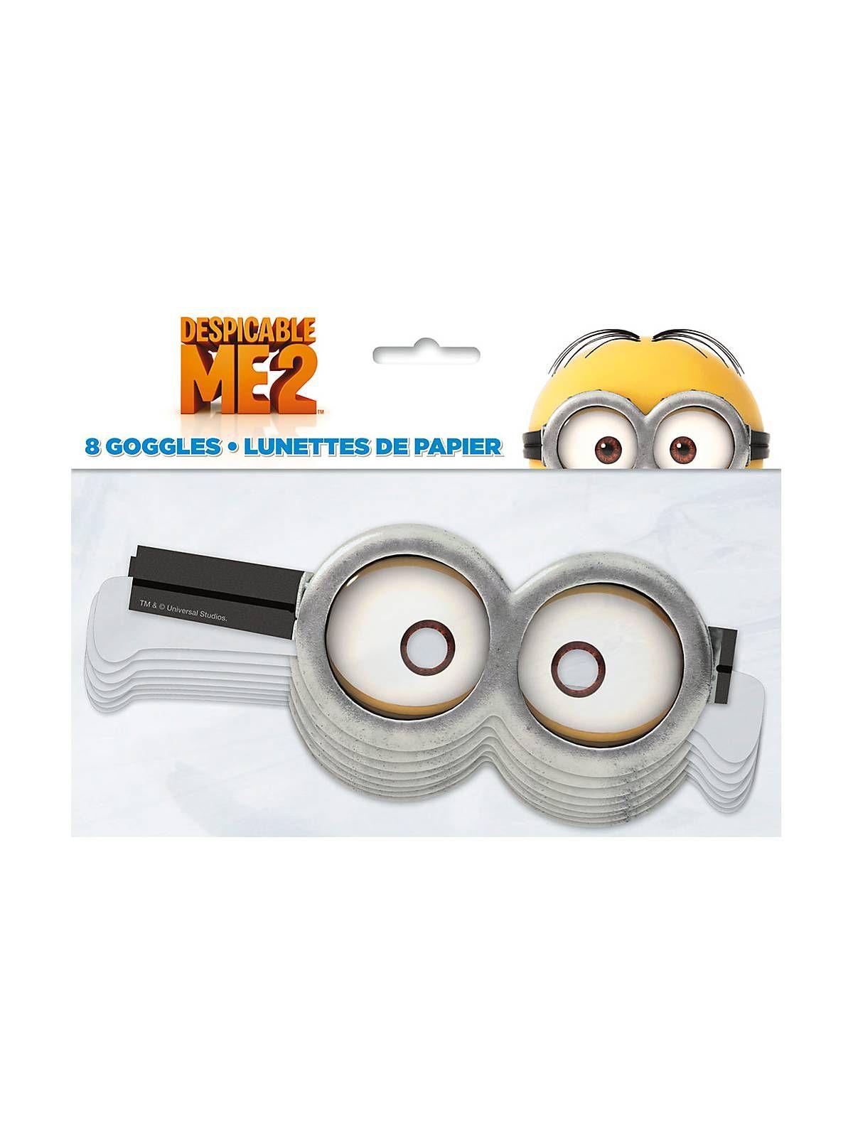 Despicable Me Paper Goggles Favors | Bargain Party Favors
