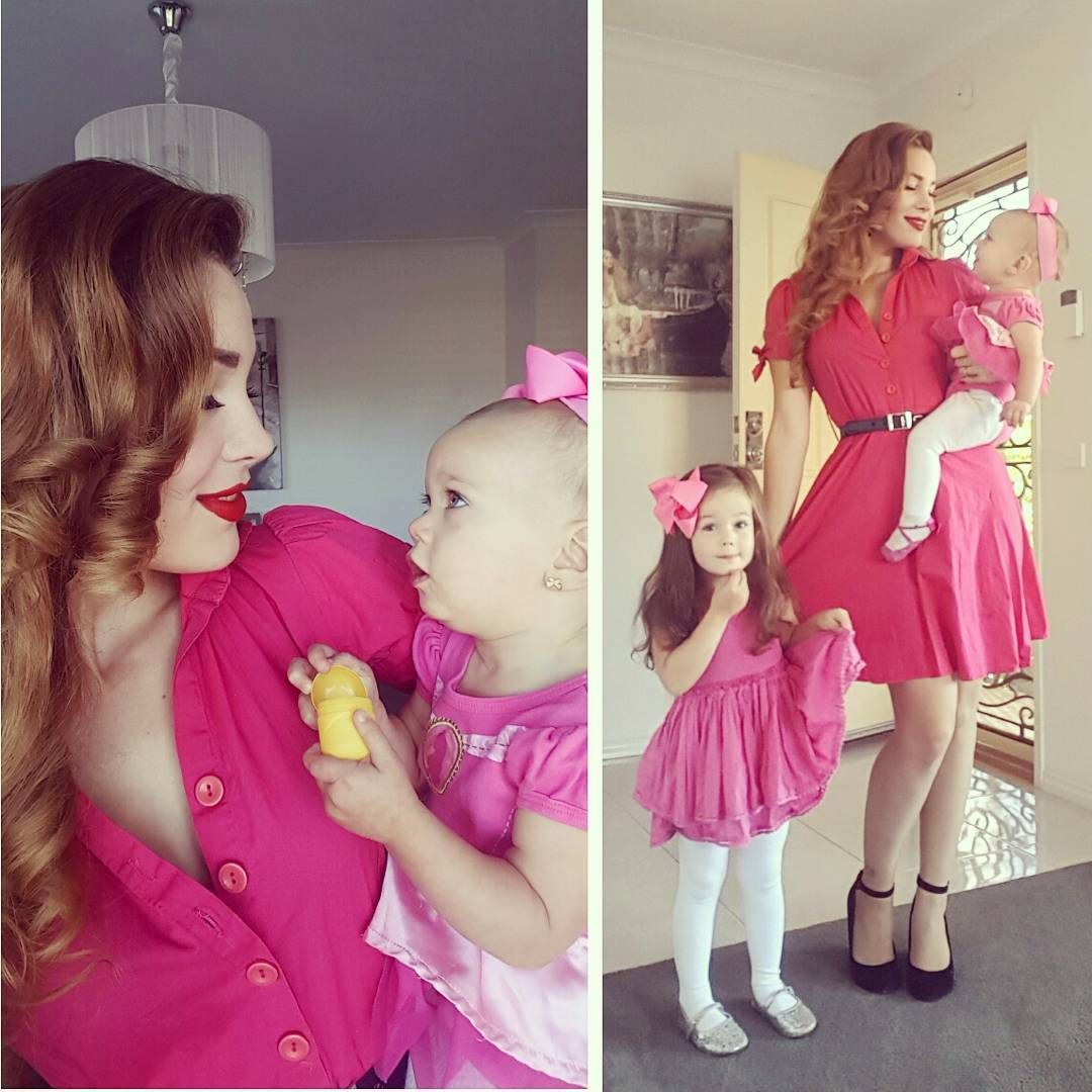 """253 Likes, 2 Comments - 🌹 Bethany 🌹 (@missbettydoll) on Instagram: """"Pink power today 💖💖💖 #pinup  #retro  #ootdsocialclub  #fashion  #melbournepinup  #pinupgirl…"""""""