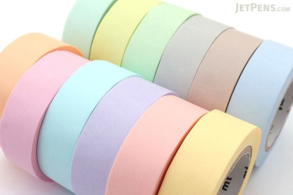 MT Solids Washi Tape - Pastel Mint - 15 mm x 10 m - MT MT01P308Z