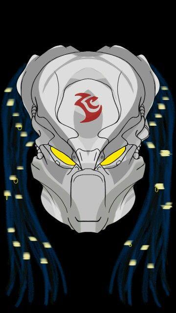PREDATOR helmet d 8 | Predator in 2019 | Predator helmet