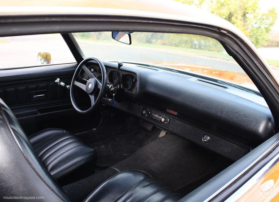 1973 Chevrolet Camaro Pictures Muscle Car Squad Chevrolet Camaro Camaro Camaro Interior