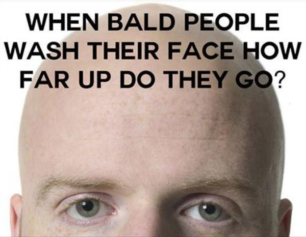 Bald People Really Funny Pictures Funny Picture Quotes