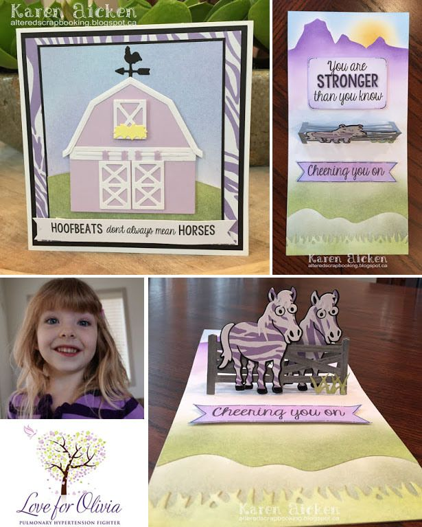 Karen Aicken created this card for the October 2015 Karen Burniston Pop it Ups Designer Challenge on the Elizabeth Craft Designs blog and to create awareness for Pulmonary Hypertension: http://blog.elizabethcraftdesigns.com/2015/10/pop-it-ups-karen-burniston-designer-challenge-characters-in-costume/