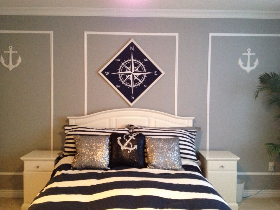 We Love Our Nautical Bedroom!!! :) Duvet Cover And Shams